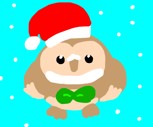 that owl santa pokemon