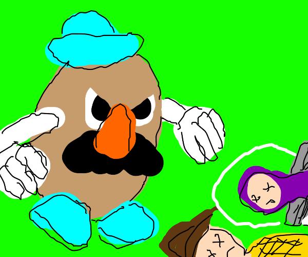 Potatohead beat Woody & Buzz