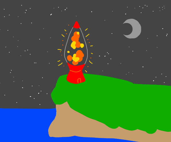 lavalamp instead of lighthouse