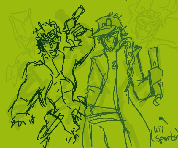 Jotaro & Dio Play Wii Sports Boxing
