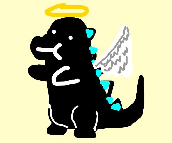 Angelic Godzilla