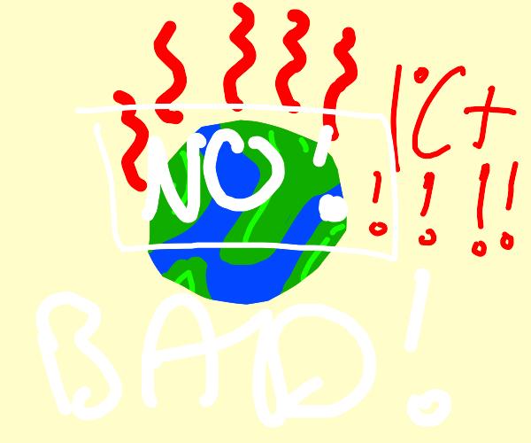 Global warming BAD