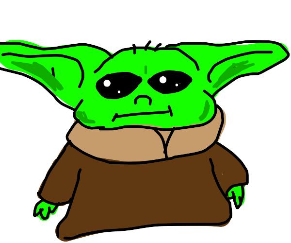 Baby yoda :3