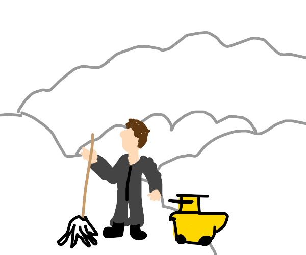 The janitor in heaven