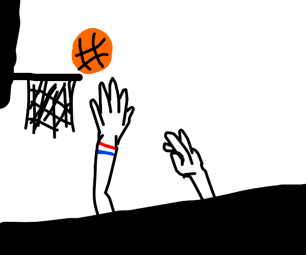 Playing with a Basketball