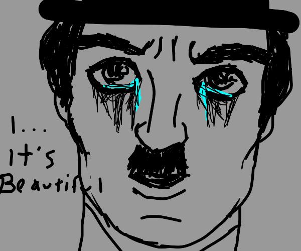 Charlie Chaplin witnesses nirvana
