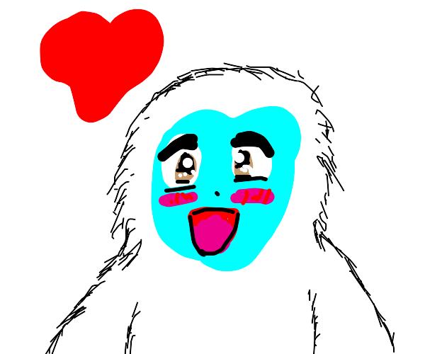 Even yeti feel love
