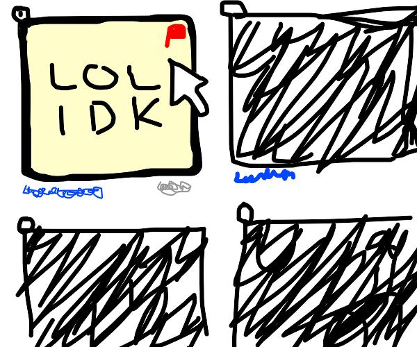 Seeing a panel that is so bad u gotta flag it