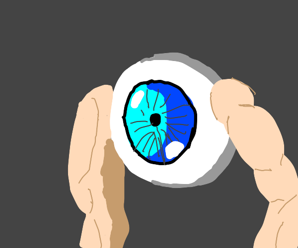 A monster who is only a arm and an eye