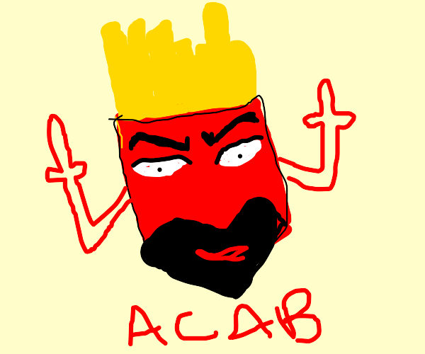 Frylock (Aqua Teen Hunger Force)gets arrested
