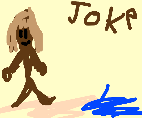 Jesus on da beach