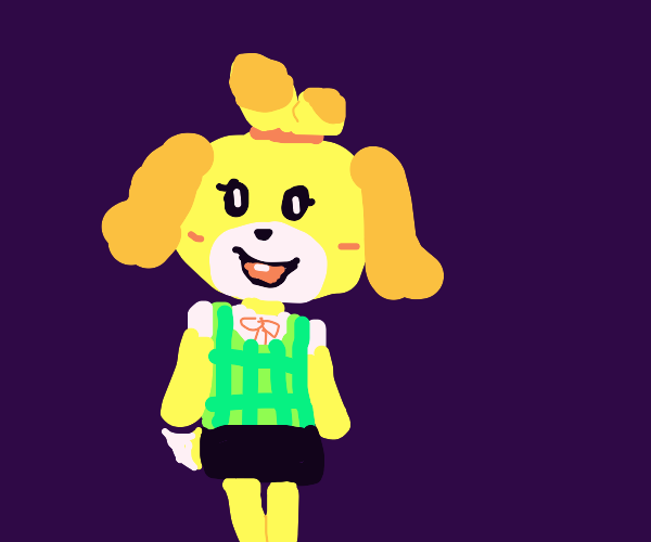 Isabelle the dog