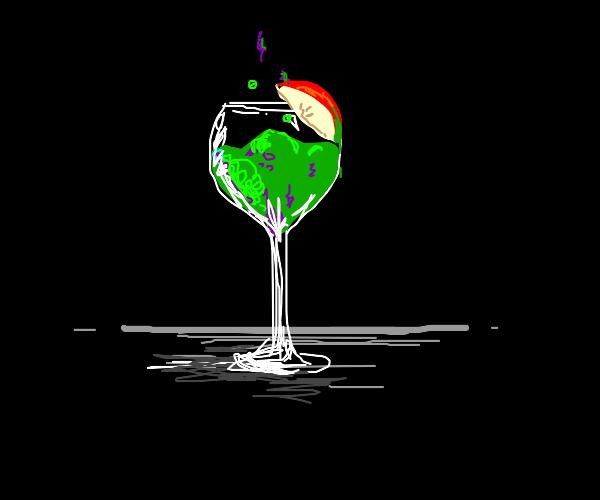 Poison apple wine