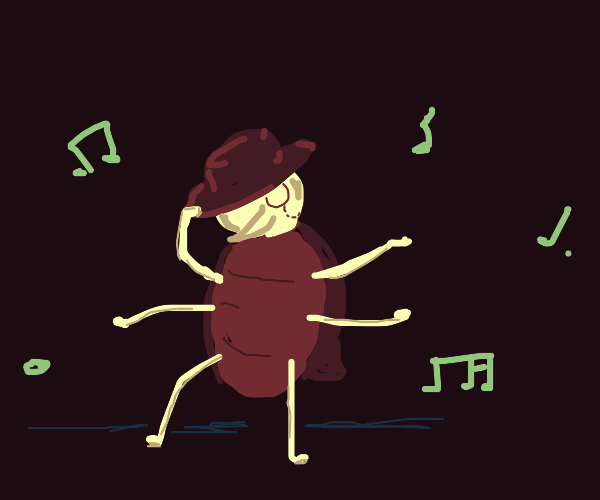 fancy bug dancing to some music