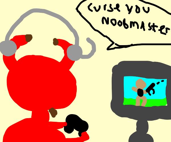 Satan is angry at fortnite gamers