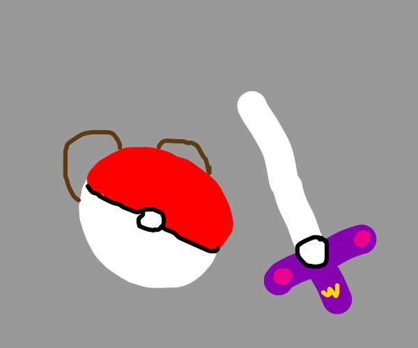 Pokeball Sword and Shield