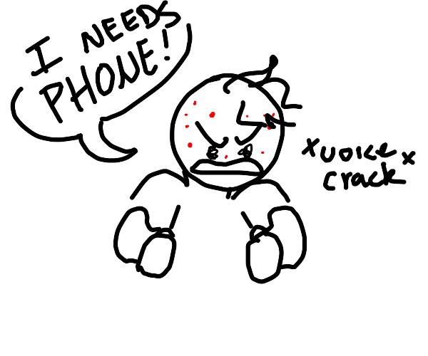 teenager needs phone