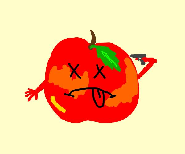 Apple self death