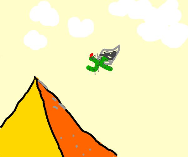 Flying cactus