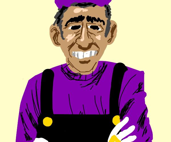 Obama, but he's Waluigi.