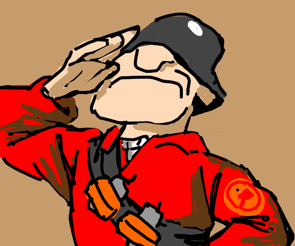 the soldier from tf2