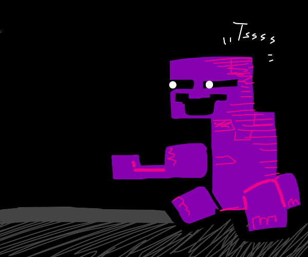 The man behind the slaughter but a creeper