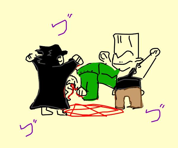 JoJo exorcism