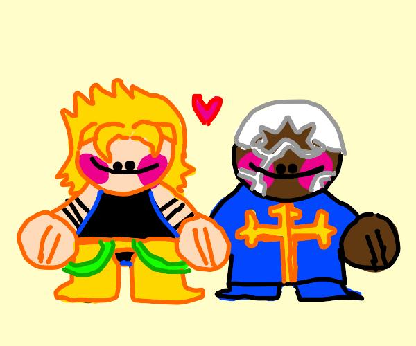 Dio and Pucci in love (JJBA)