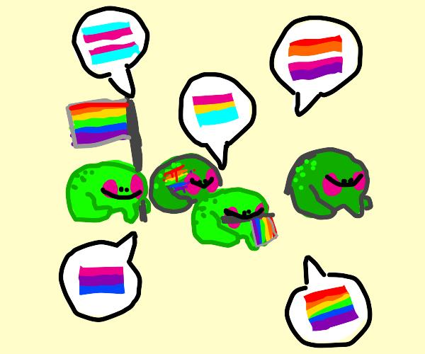 frog pride parade