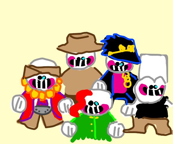 Sansdust Crusaders