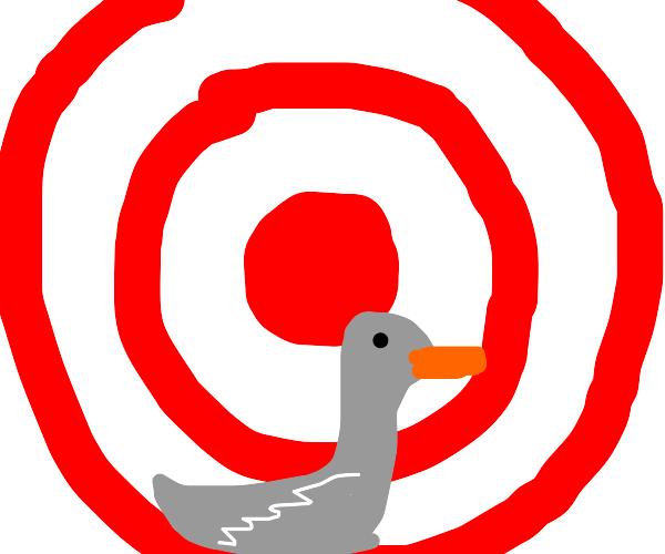 Goose at Target