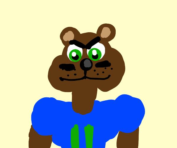 Football Player Bear
