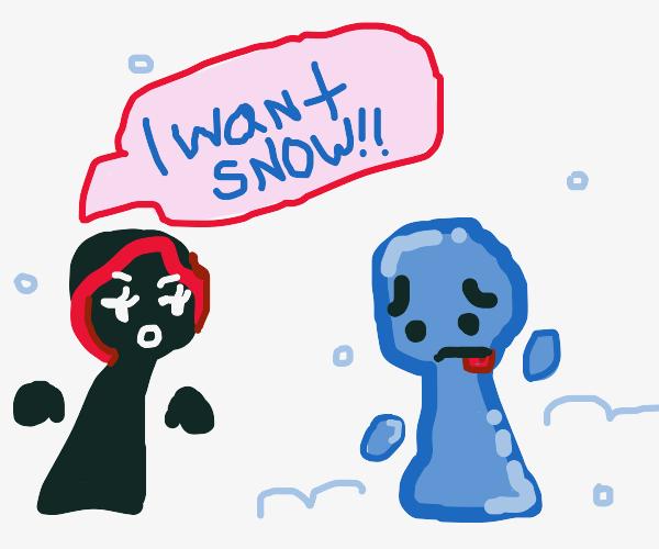 Girl Wants Rich Guys Snow