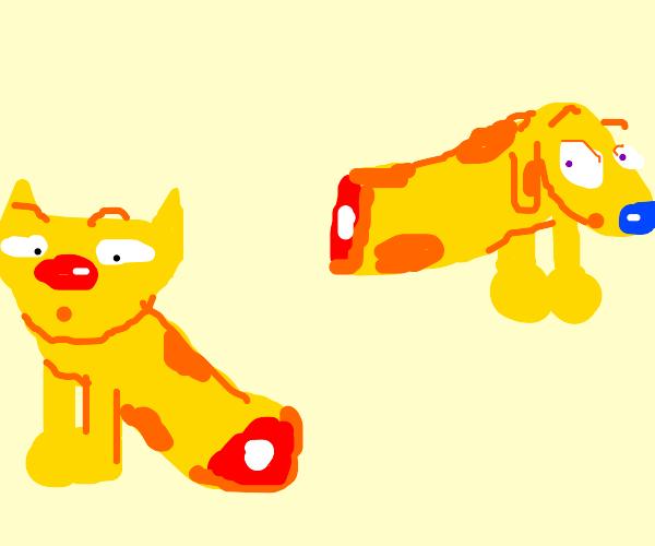 Catdog has been split