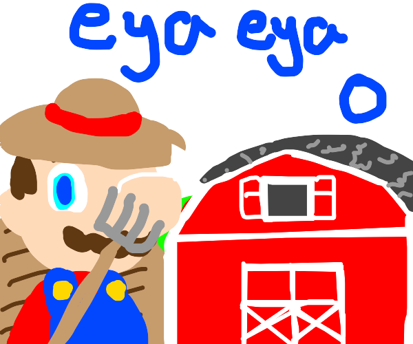 Old Mario Had A Farm