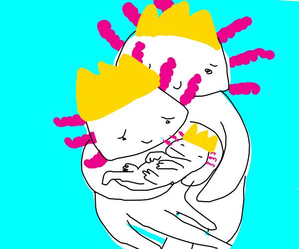 priness axolotl baby