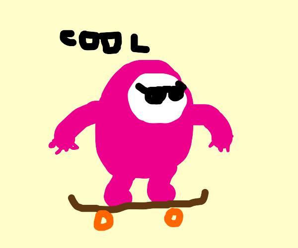 fall guy skating