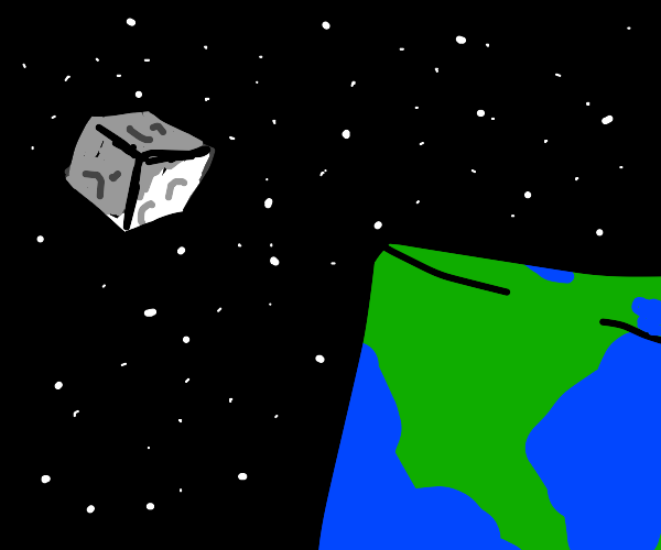 What Minecraft looks like in outer space