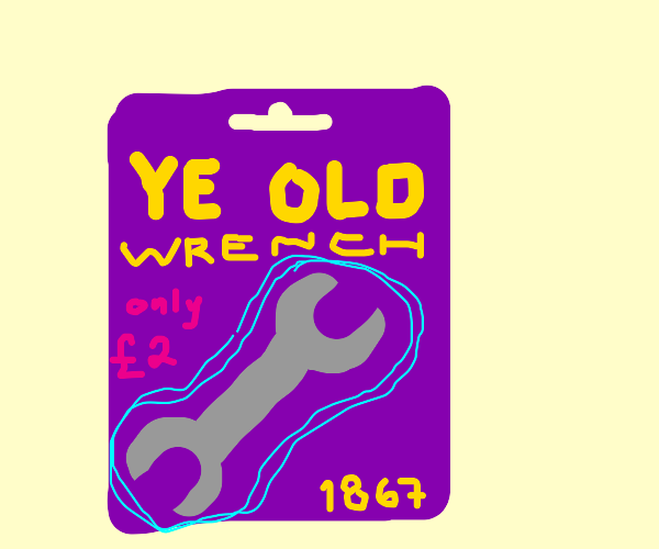 Wrench from the 1800s