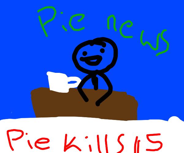 Pie kills 15 people