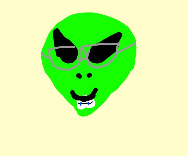Alien nerd