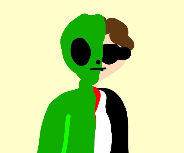 half alien secret agent