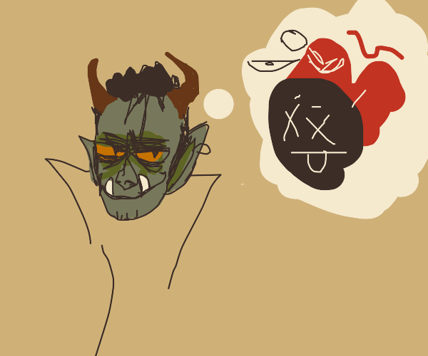 troll fantasizes about chaos