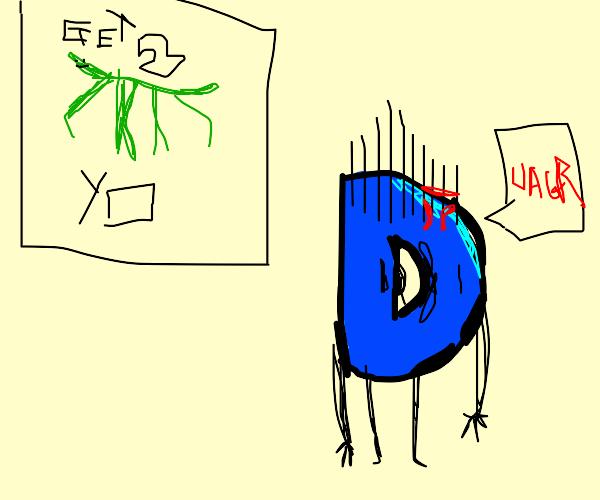 Drawception tired of getting stickbugged