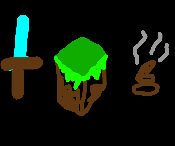 Minecraft, but with Poop