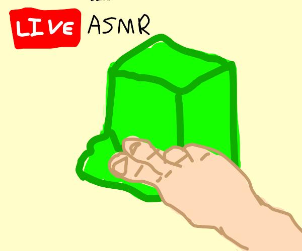 ASMR but it's live