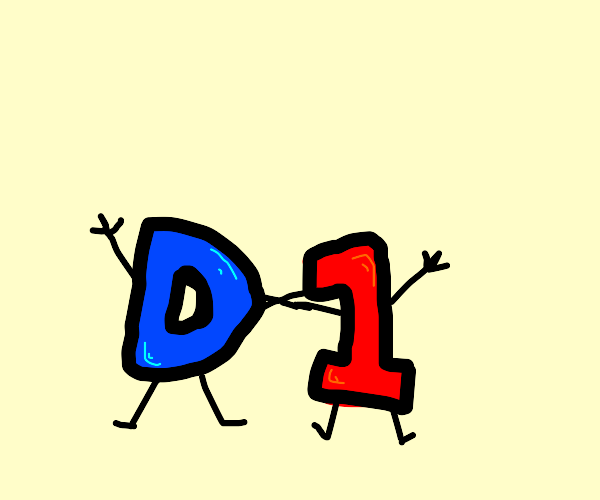 D and 1 become acquainted