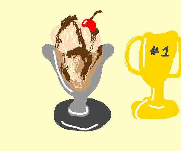 sundae worth a trophy for