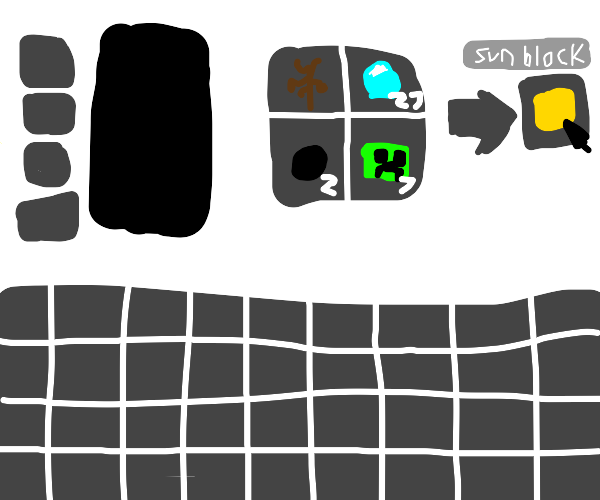 Minecraft has a sun block now