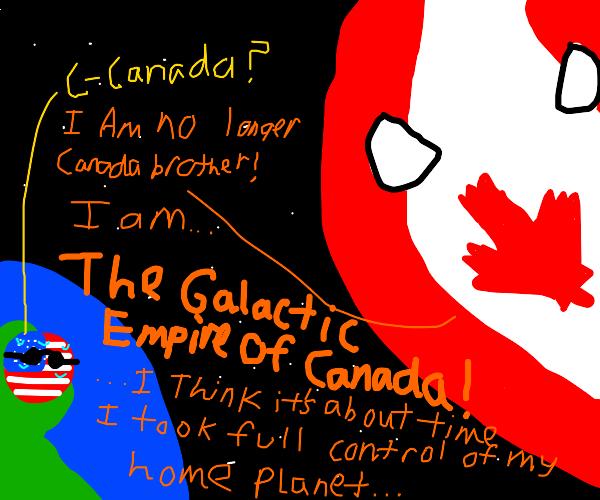 Canada's intergalactic might over America